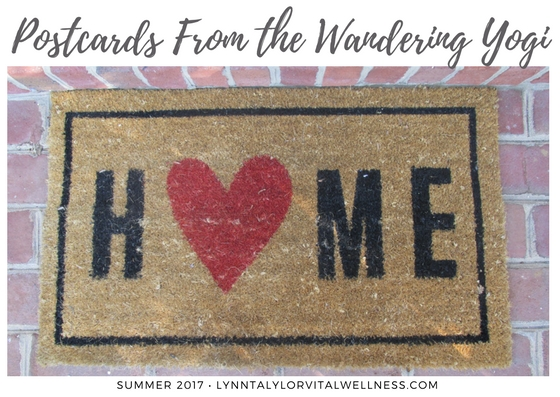 postcards from the wandering yogi