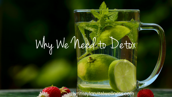 why we need to detox